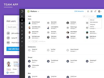Deveo Team App deveo app team
