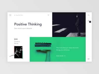 Store Book Landing Page