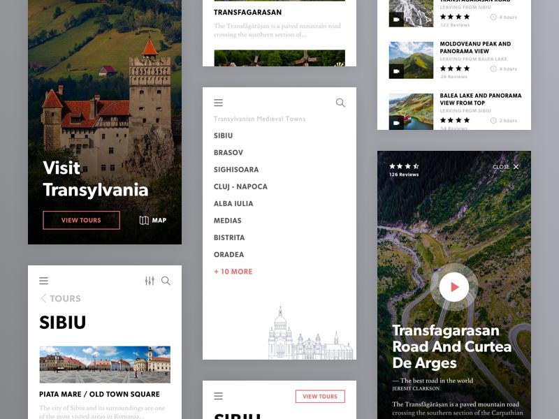 Visit Transylvania Mobile Tour App transilvania romania transfagarasan sibiu tourism tour app mobile app transylvania