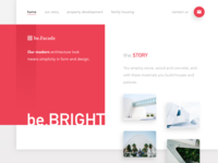 be.Facade Architecture Landing Page