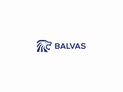 Balvas balvas lionhead lion solid creative minimal simple logodesign logo futureform