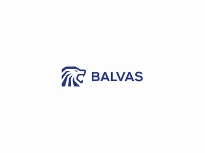 Balvas balvas lionhead lion solid creative minimal simple logodesign logo futureform
