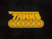 Tänks game - logo concept
