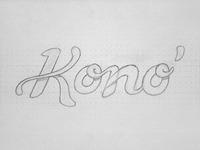 Kono sketch