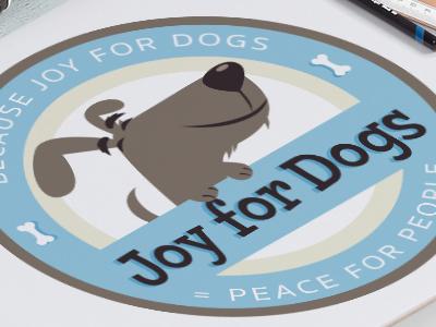 Custom Pet Business Logo Design Joy For Dogs bone pets joy canine pet design dogs