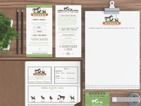 Pet business branding design for hanna s pet sitting by sniffdesignstudio