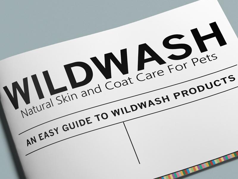 Interactive Training Manual for WildWash Co., UK pet industry pet care interactive pdf pet design pet business branding pet candle pet shampoo dog wash