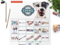 Sell Sheet & Product Label Design For Simply American Chews