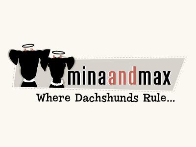 Pet Logo Design Mina and Max