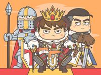 King illustration