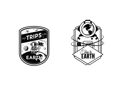 Trips To Earth logo