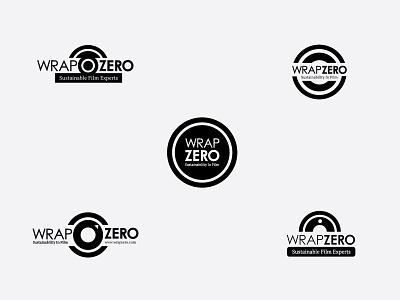 WrapZero identity corporate film logo
