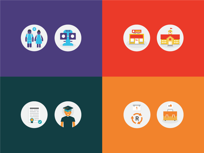 Icons web illustration vectors icons