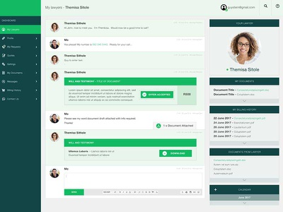 Dashboard Prototype web online design dashboard ux ui