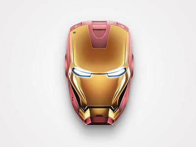 Iron Man 2008 avengers design icon movie mask photoshop ironman