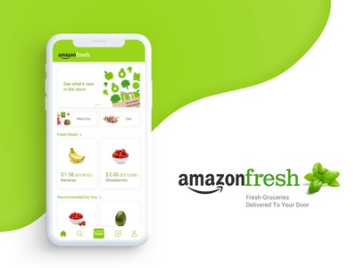 Amazon Fresh UI 🥑🥦🥕