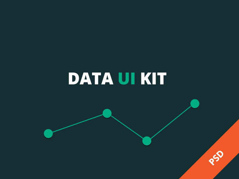 UI Library (PSD Resource) myplanet data visualization graph chart ui psd resource user interface free