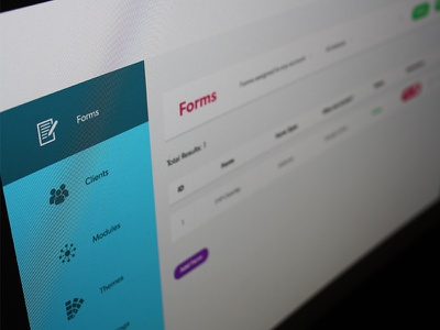 Form Submission Interface data navigation stats form flat dashboard ui design ui interface