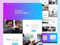 One Page Site, Video Production Agency 🎥
