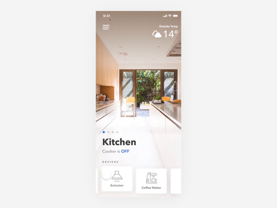 Smart Home App 🏠📱 lights smart house smart home app smart home smarthome mobie ios app design invision studio invision studio app animation interface ux ui