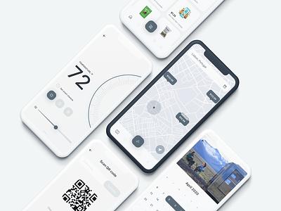 🏡 BIVVI App ui design ui mobile ui mobile design mobile app concept mobile app mobile design concept app