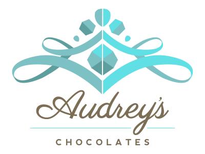Audreys Chocolates logo design