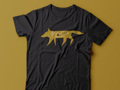 Lady Wolf's Showroom baltimore wolf branding logo tee t-shirt