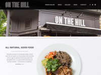 On The Hill Cafe Website