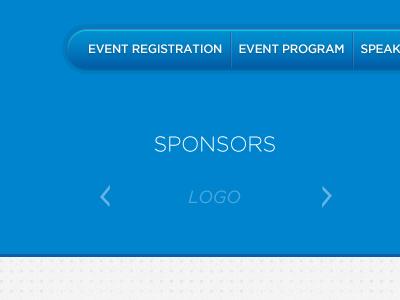 Event Website Design Items