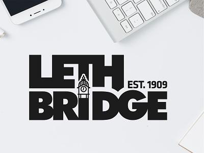 Lethbridge Clock Tower Logo logo concept city logo logo design logo