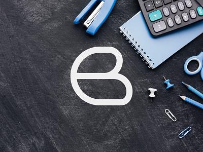 Monoline B Logo letterlogo 36daysoftype logodesigner logodesign logo