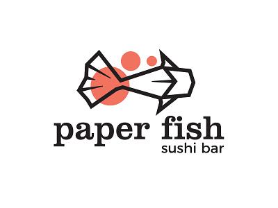 Sushi Restaurant Logo salmon fish fish logo restaurant branding restaurant logo logodesign logo sushi bar sushi logo
