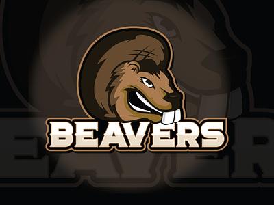 Esport Beaver Logo mascot illustrator logodesign esports mascot esports logo esports esport