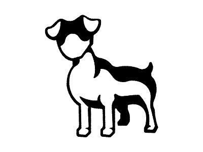 Jack Russell Terrier Logo logos logodesign logo design jack russell terrier terrier dog shape dog silhouette dog illustration dog logo dog logo