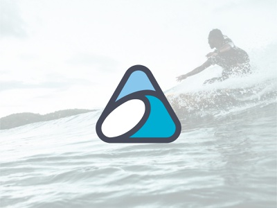akaw surf co. logo ocean logo ocean wave waves water surf company logo surf logo surfing surf brand designer brand branding design logo design concept logo design branding logo design logo