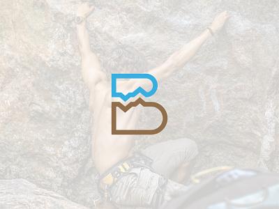 bomber logo & branding climbing logo mountain logo branding design logo designer logo design logos logo