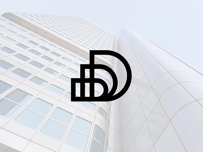 Davis Bros. Development Logo construction logo brothers building logo buildings branding logodesign logo design logo