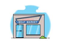 Alberta Meat Market - Buildings of Lethbridge