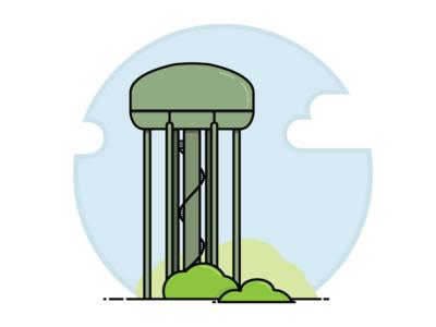 Lethbridge Water Tower