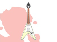 James Hetfield Guitars #2 - Electra Flying V