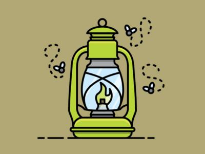 Retro Kerosene Lantern