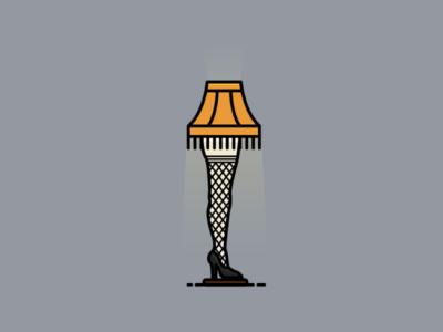 The Leg Lamp | A Christmas Story pantyhose mesh high heel christmas lamp leg lamp stockings leg