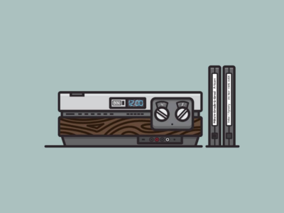 Vintage 80's VCR