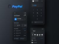 Paypal Redesign Concept Dark