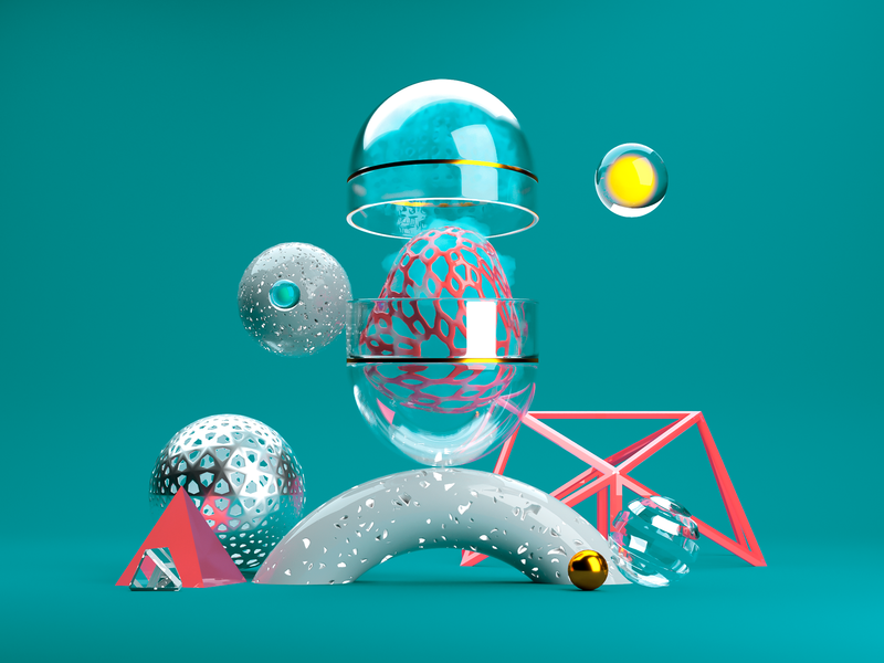 Abstract Illustration art abstract illustration illustration corona render abstract 3d render cinema 4d