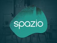 Spazio interior design texture logo branding