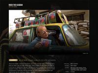 For Filmmakers startup layout website filmmakers