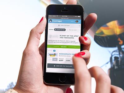 Mashape responsive concept ux startup dashboard concept flat clean app responsive retina ui stats