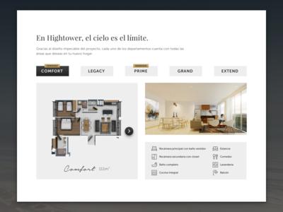 Models building real state landing gold clean cta responsive ui web
