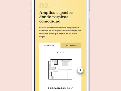 Spaces slider web ui responsive clean landing mobile principle